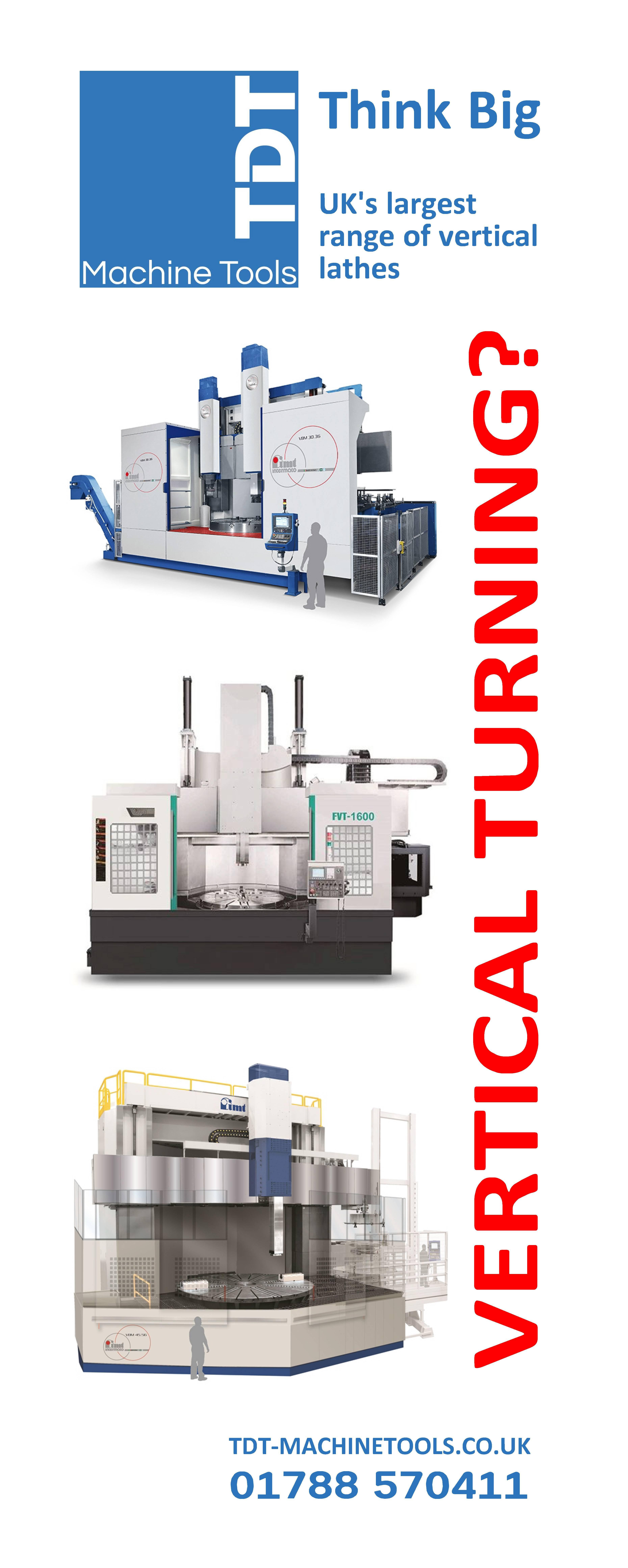 Vertical turning VTL TDT CNC