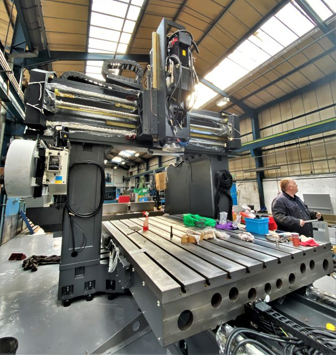 Kafo BMC-3122 Double Column machine CNC TDT