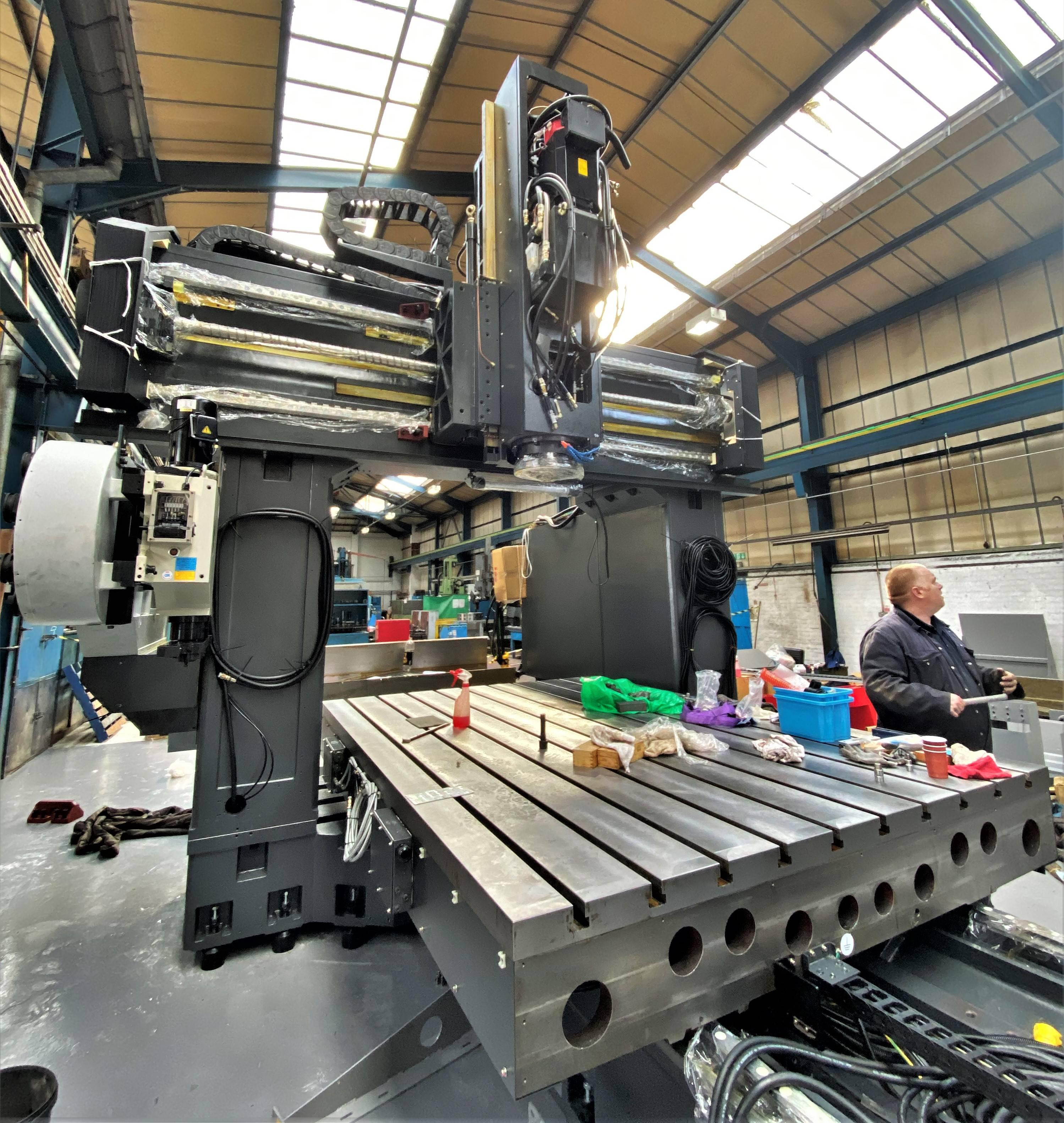 Kafo BMC-3122 Double Column machine CNC TDT