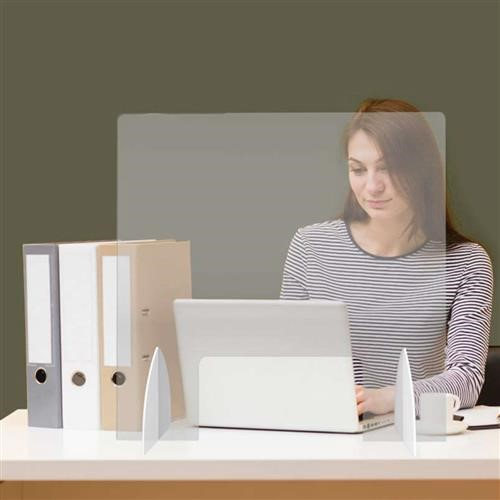 Desk Screen with cutout