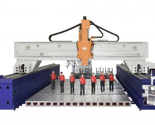 Kafo KG10080 build TDT CNC