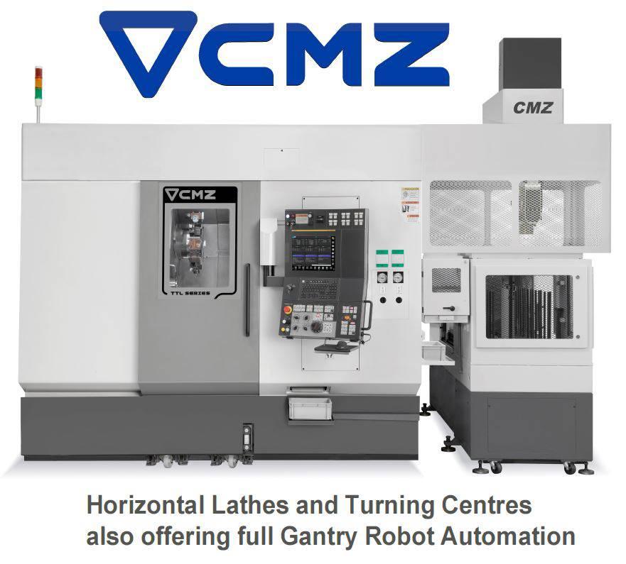 CMZ lathes TDT CNC