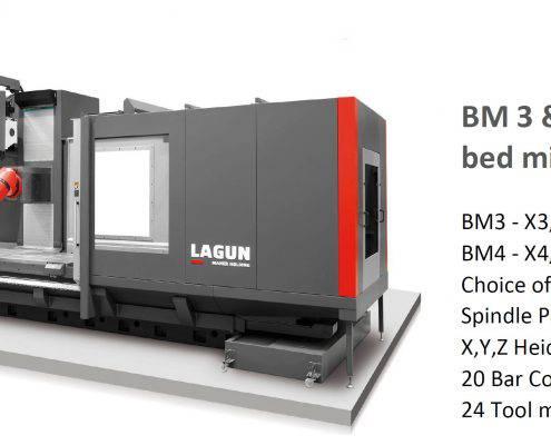 Lagun BM bed mill CNC TDT UK